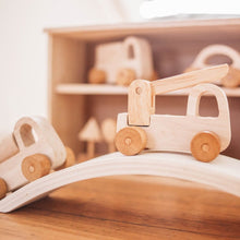 Load image into Gallery viewer, Wooden Vehicle Set - Natural