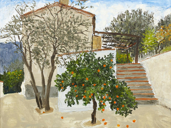 Orange Tree and Villa, Andalucia