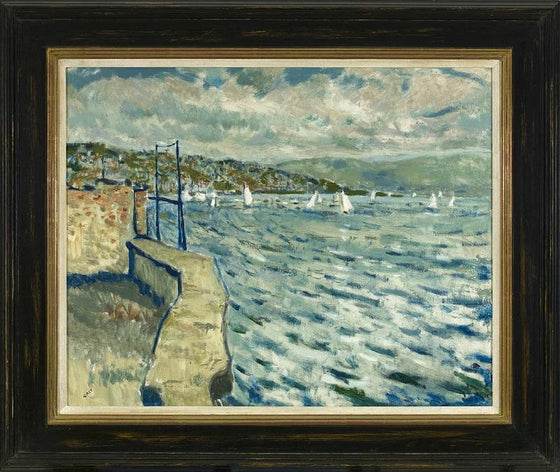 Harbour Wall (Framed)