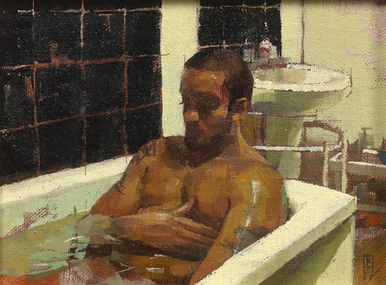 Jabril in The Bath II