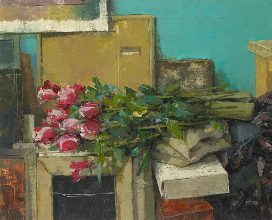 Studio Still Life with Roses