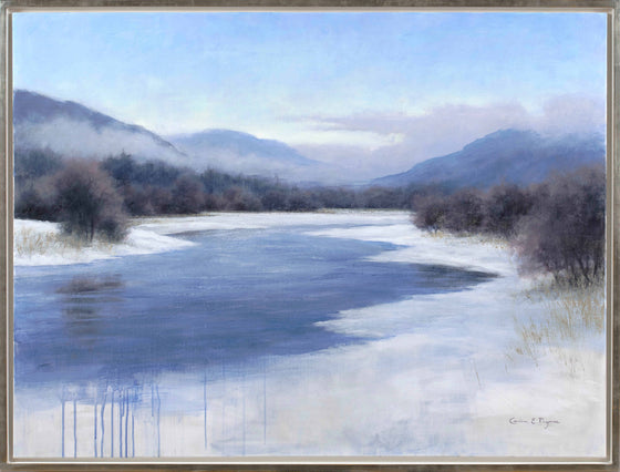 Carina Prigmore contemporary Scottish artist 'Winter Mist'
