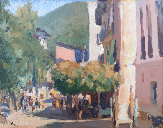 A Sunny Day in the Pyrenees, 1925