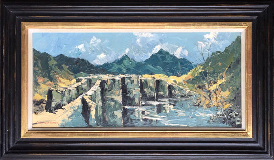 Charles Wyatt Warren_Bridge near Betws framed