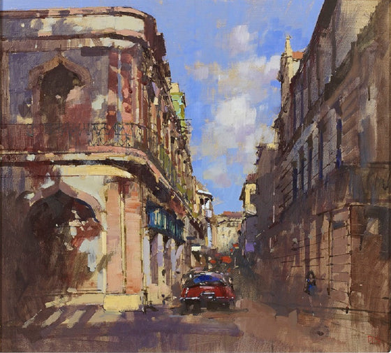 Dappled Light, View from Pasea de Marti, Havana