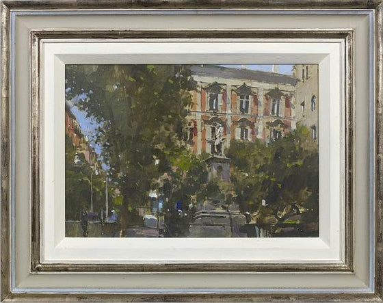 Piazza Bellini, Naples (Framed)