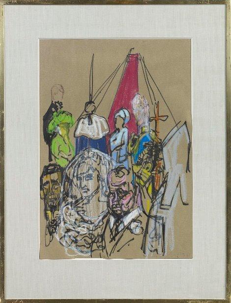 HRH Diana Princess of Wales being given away at the Altar (Framed)