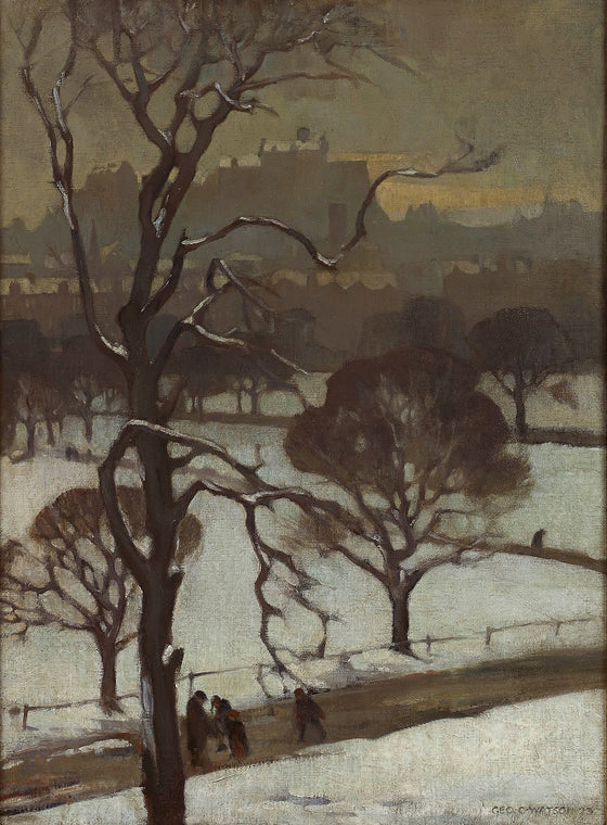 Winter, Edinburgh, 1923