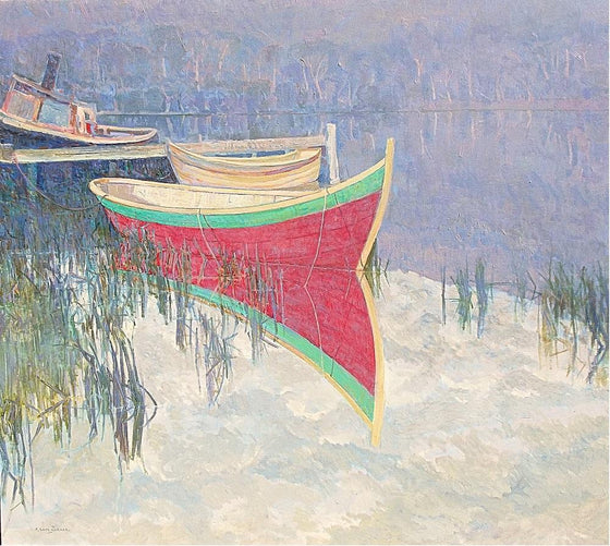 The Red Wooden Boat, Franklin