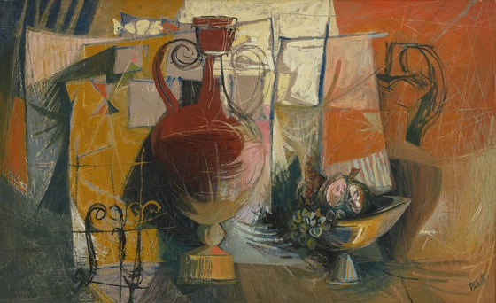 Still Life with Vase Hans Tisdall