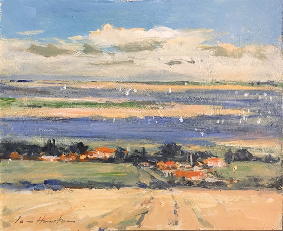 Brancaster Harbour in Late Summer