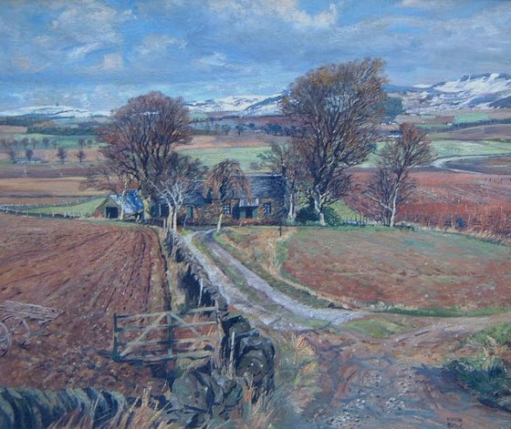 April Snow, Craigowl, Angus, 1949