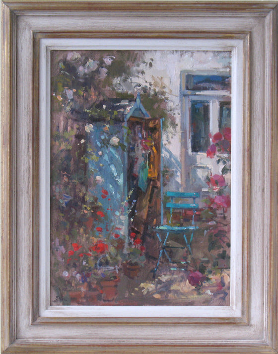 John Martin Potting Shed framed