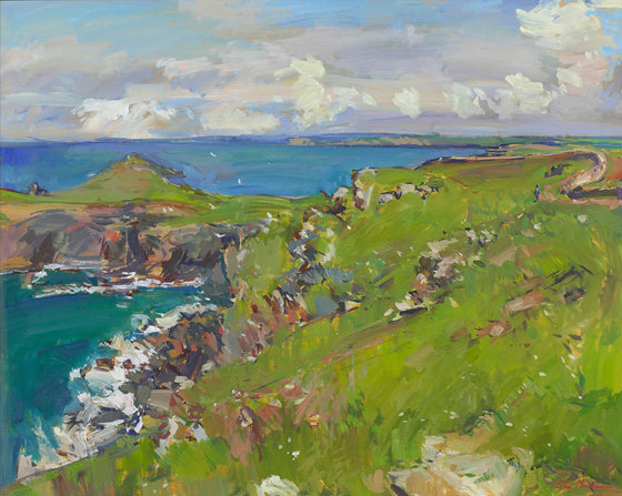 On Pentire Point, Cornwall