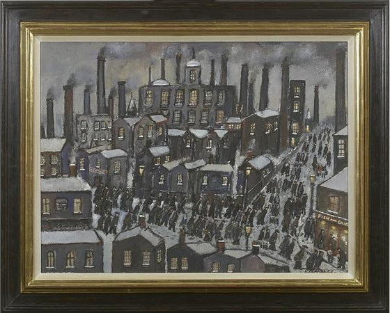 Cotton Mills (Framed)