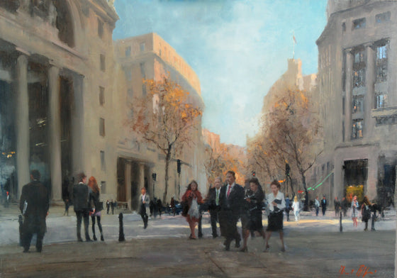 Michael Alford_Aldwych, Valentine's Day