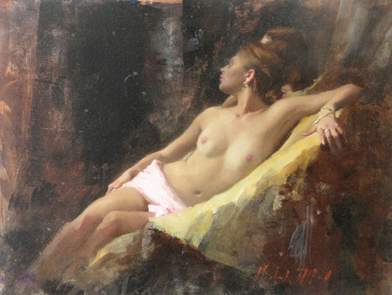 Michael Alford_Nude, Seated, Gold Ochre 1.JPG