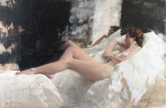 Michael Alford_Nude/White Linen 2