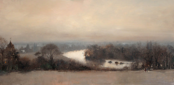 Michael Alford_The River from Richmond Hill, Winter