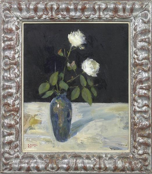 White Roses (Framed)
