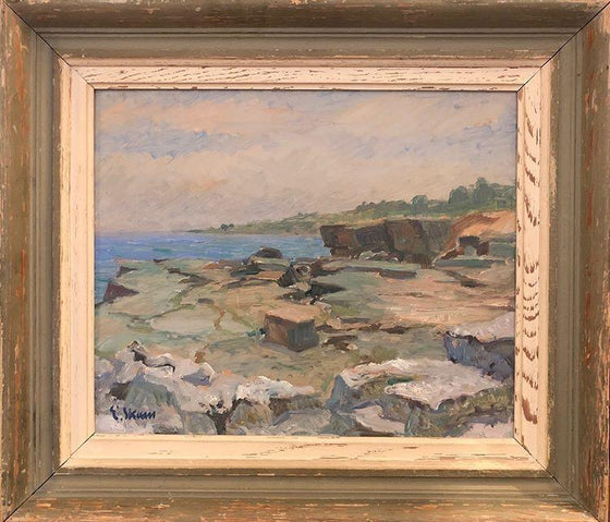 Rocky Coastline (Framed)