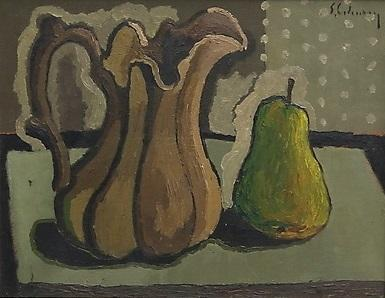 Jug and Pear