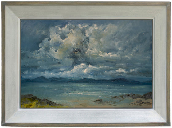 Clouds gathering over Skye and Raasay (Applecross)
