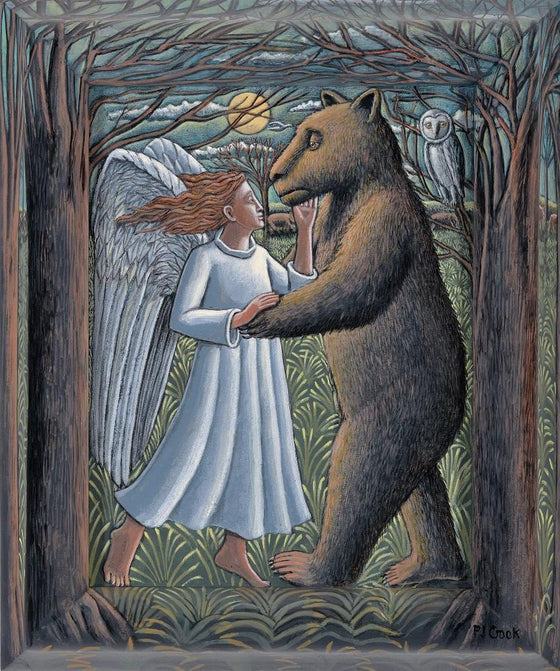 Bear and Angel Dancing