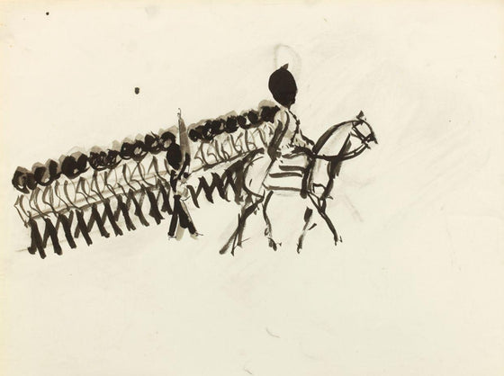 Sketch for Trooping the Colour