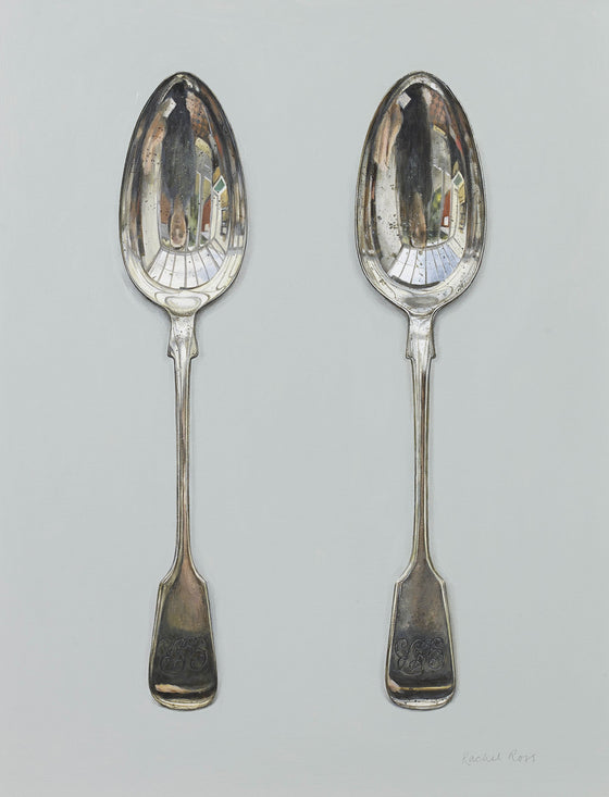 Two Scratched Spoons