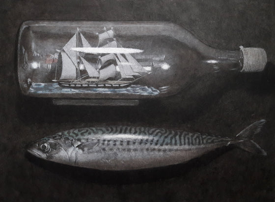 Rob Pittam_Ship in a Bottle