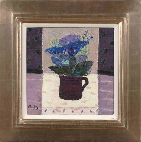 Sandy Murphy Contemporary Scottish Artist 'Purple Jug'