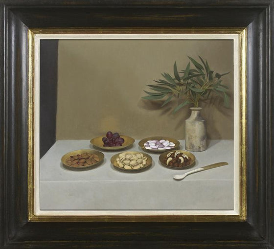 Five Golden Dishes (Framed)