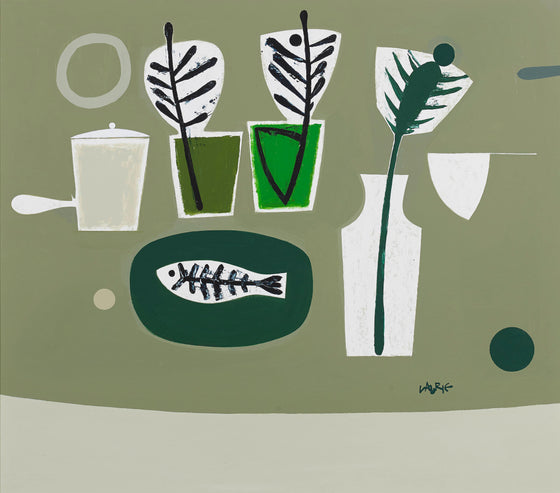 Objects on Green