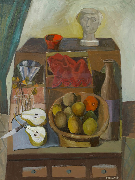 Still Life with Sculpture