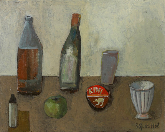 Still Life with Shoe Polish