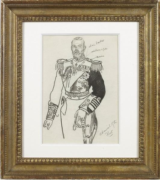 Admiral of the fleet (Framed)