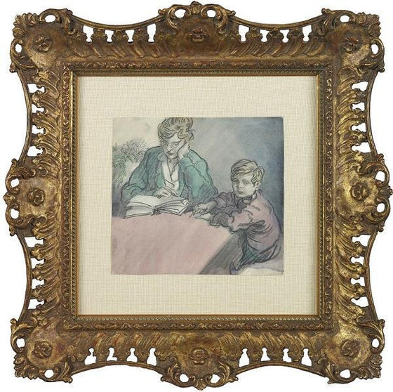 The Young Artist (Framed)