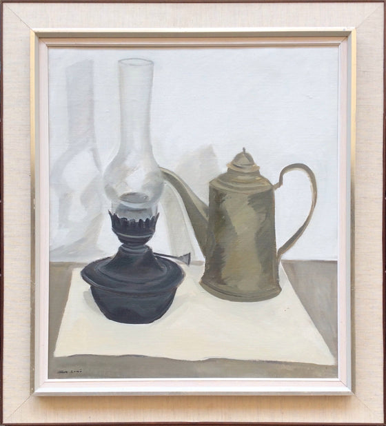 Still Life with Oil Lamp