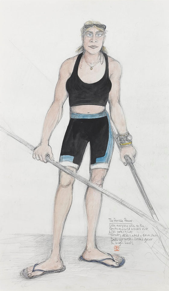 The Female Rower