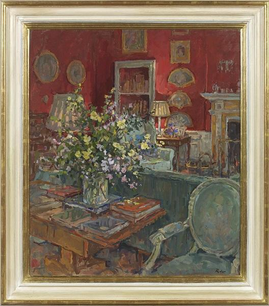 Drawing Room Flowers (Framed)