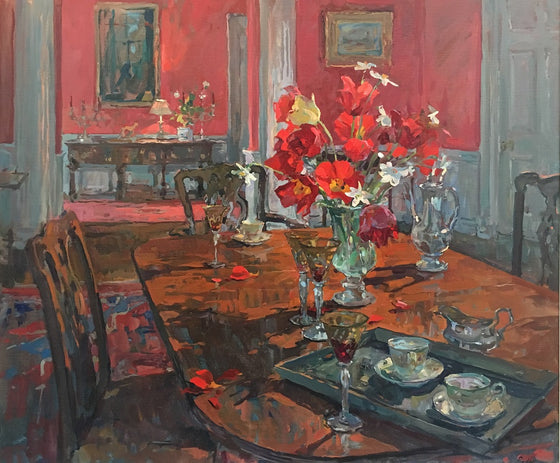 The Table in the Red Dining Room
