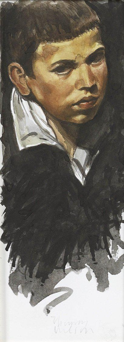 The Young Boy (Study from Velazquez)