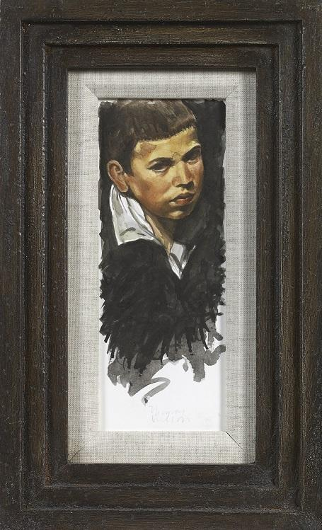 The Young Boy (Study from Velazquez) (Framed)