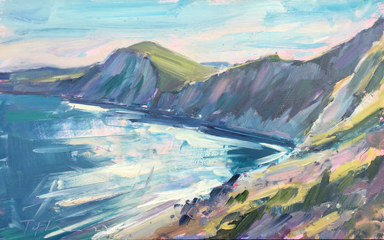 Afternoon Light, Worbarrow Bay