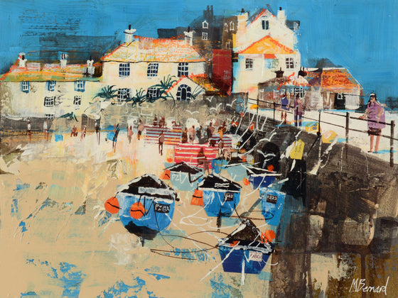 Mike Bernard St Ives, The Beach