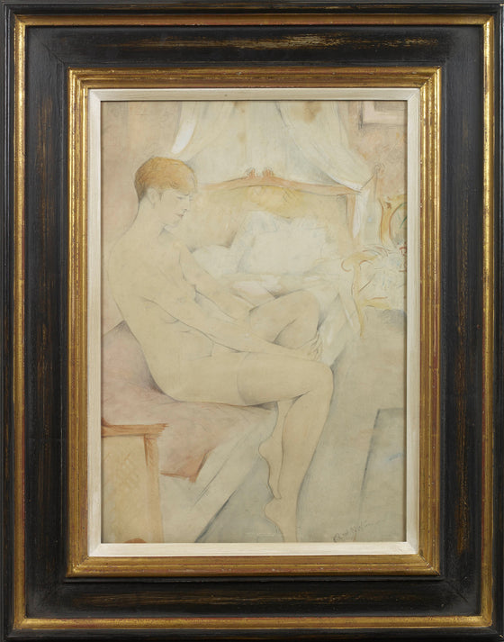 Nude Study in a Bedroom