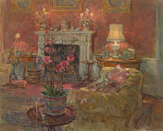 Susan Ryder Morning Room with Orchid