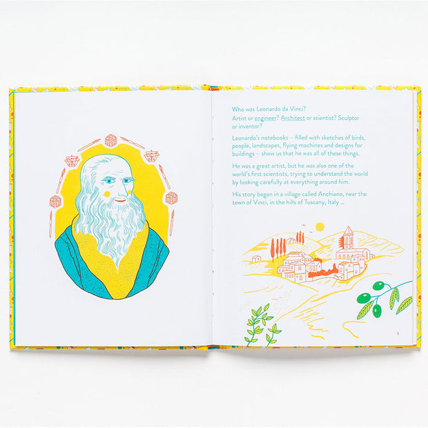 Leonardo Da Vinci : Little Guides to Great Lives Book
