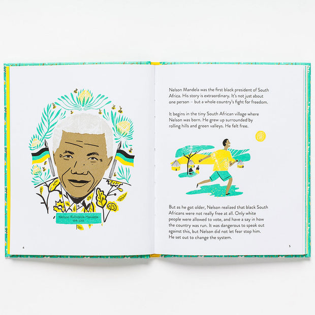 Nelson Mandela : Little Guides to Great Lives Book